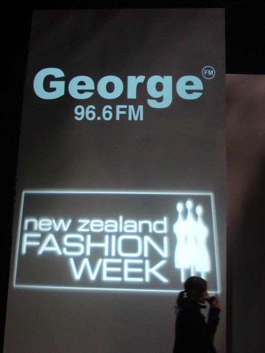 George FM at Fashion Week