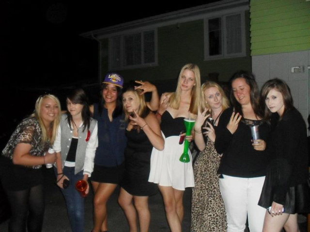 Lacean Trim - group photo before a long night :L