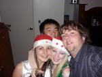 Morgan - My friend hosted a Christmas Party last week and it was a fun long night! :) We dressed up christmasy too!