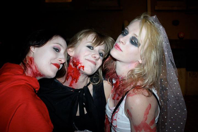 Cheyne Conaglen - My Girlfriend and her friends on halloween! , best dressed :D