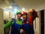 Simon - Mario and Luigi let loose in Dunedin
