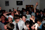 Simon Burgess - picture of the crowd in my lounge when bulletproof played in november,