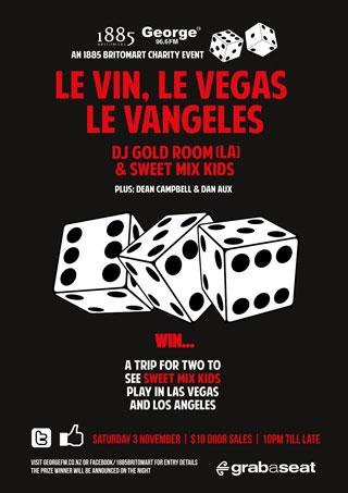 Le Vin Le Vegas Le Vangeles poster