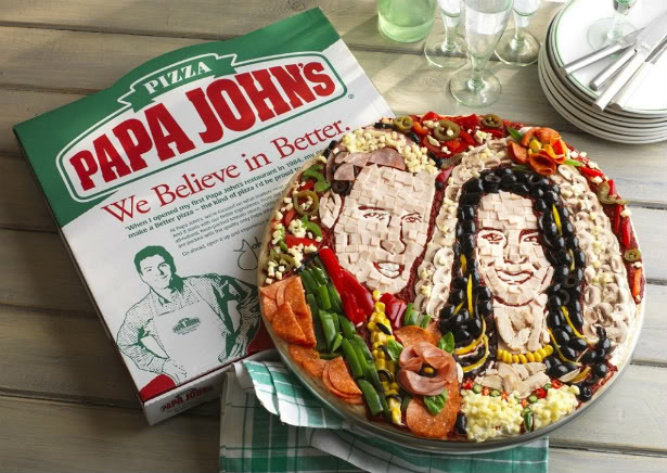 The Royal Wedding Pizza