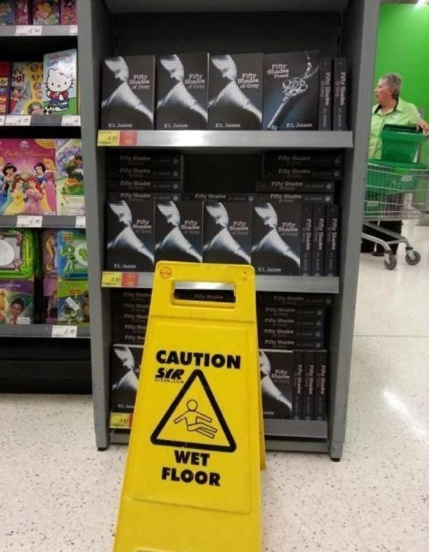 "Caution: ""Fifty Shades Of Grey"""
