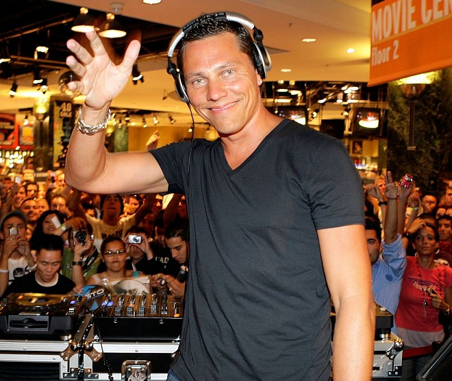 #1: DJ Tiesto Net Worth – $65 million