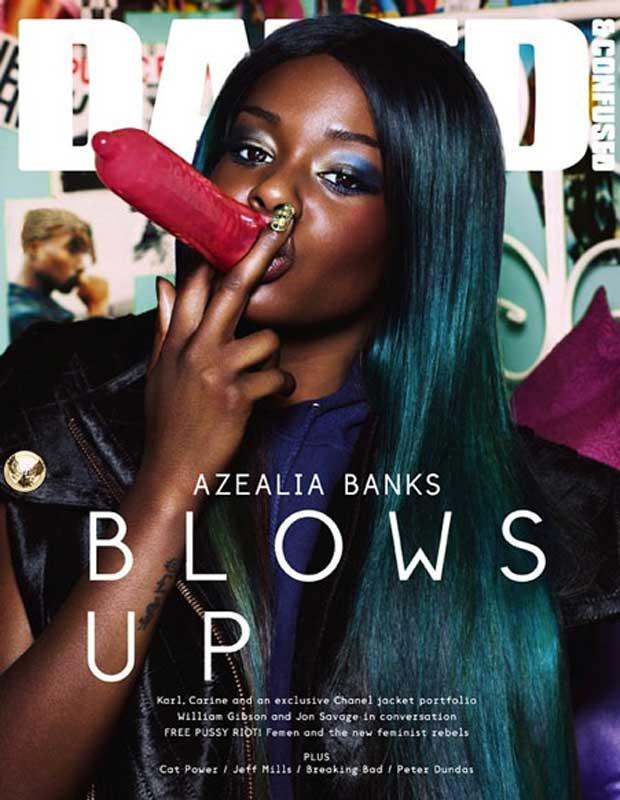 Azealia Banks magazine cover banned!