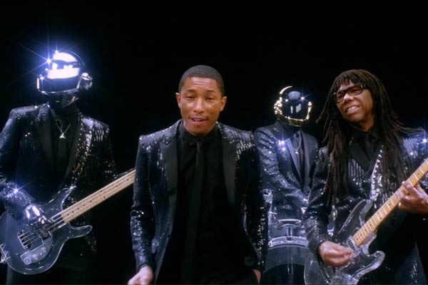 Daft Punk 'Get Lucky' SNL ad feat. Pharrell & Nile Rodgers