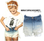 Dip-dye your short shorts!
