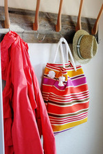 Make this waterproof tote bag without sewing! (see below for link!)