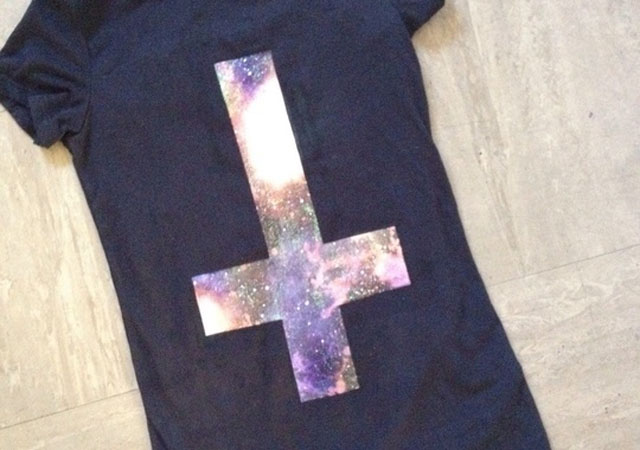Make your own galaxy tee