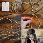 Make a gypsy crown!