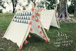 Make your own teepee tent!