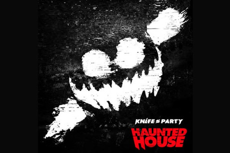 Knife Party Haunted House Album Cover Knife Party Haunted House ep