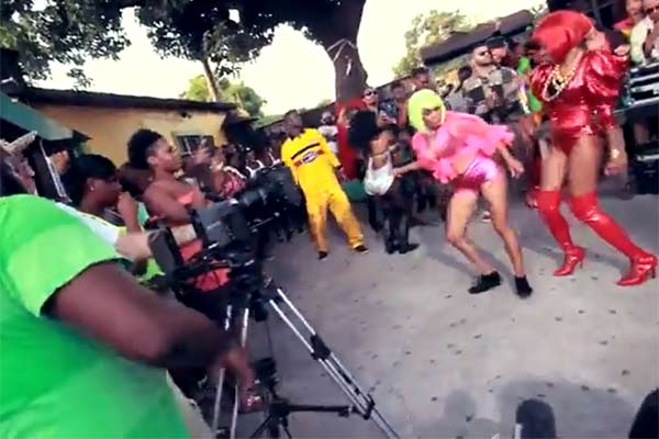 Video: Major Lazer - Behind the Scenes - 'Watch Out For This'