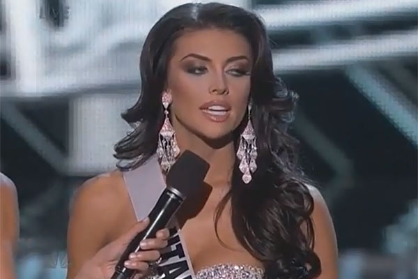 Video: Miss Utah's 'Cringe Worthy' Answer