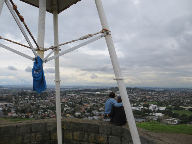 Stashed T-Shirt on Mt Eden