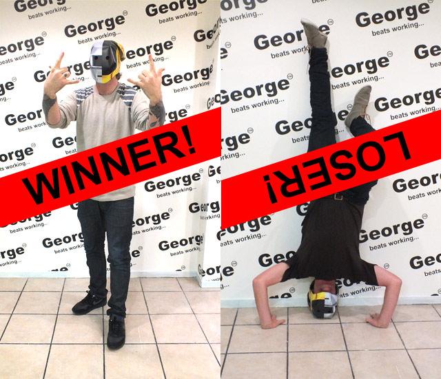 Round 1 - Daft Punk Helmet