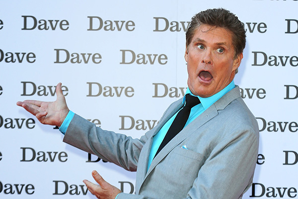 David Hasselhoff has officially changed his name
