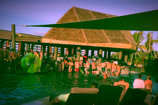 Kings Impromptu music video shot at BlueSky Fiji