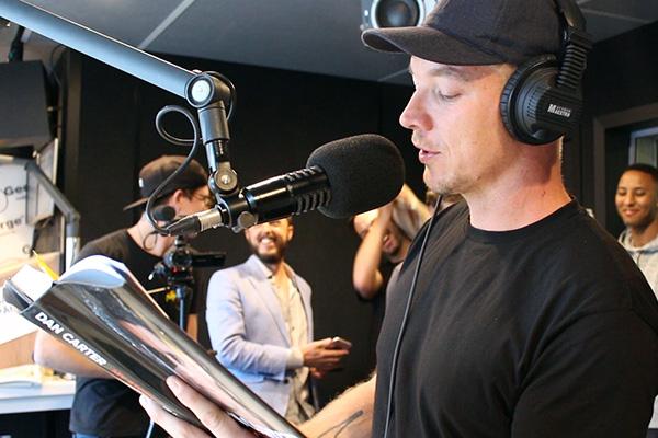 Diplo Reads a Paragraph from Dan Carter's Autobiography