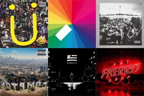 George FM picks best albums of 2015