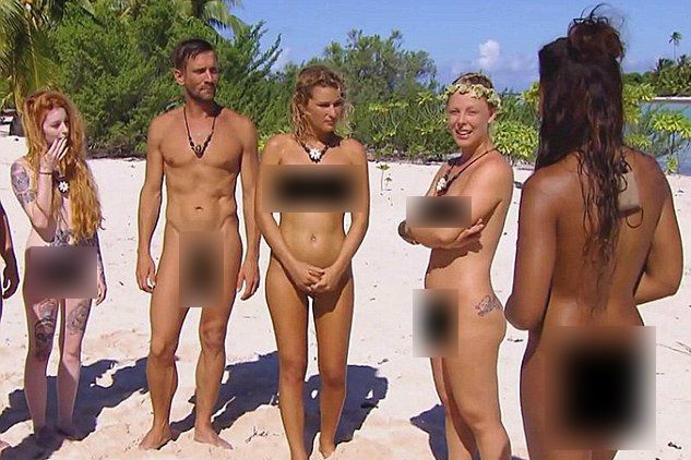 Nudist dating show proves to be new low for has-beens