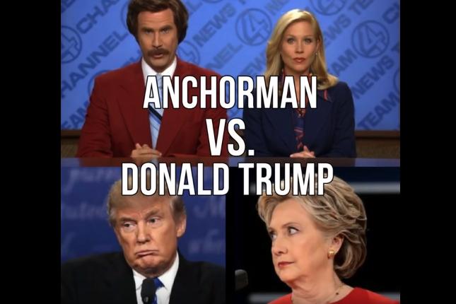 Anchorman vs. Trump
