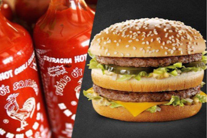 Maccas is making a Sriracha Big Mac