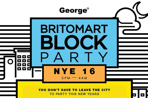 Upgrade your tickets to Britomart Block Party
