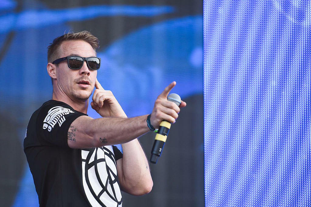 Diplo's take on the mannequin challenge