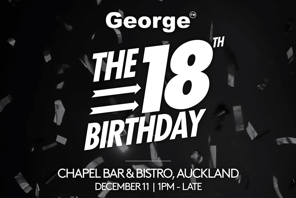 George's 18th Birthday