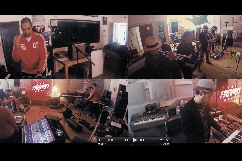 Exclusive: Fat Freddy's Drop Live Jam