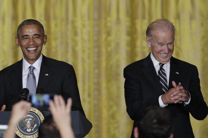 Celebrating Joe Biden for president 2020 with the best Biden/Obama memes