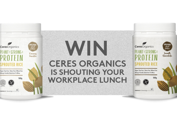 Ceres Organics is shouting you lunch!