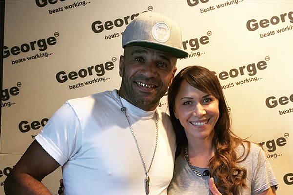 Goldie joins Aroha on the George FM Grind