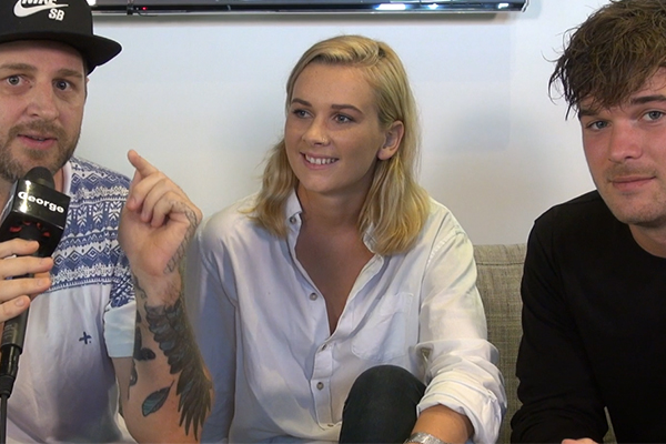 Dan talks to Broods about their new single 'Free'