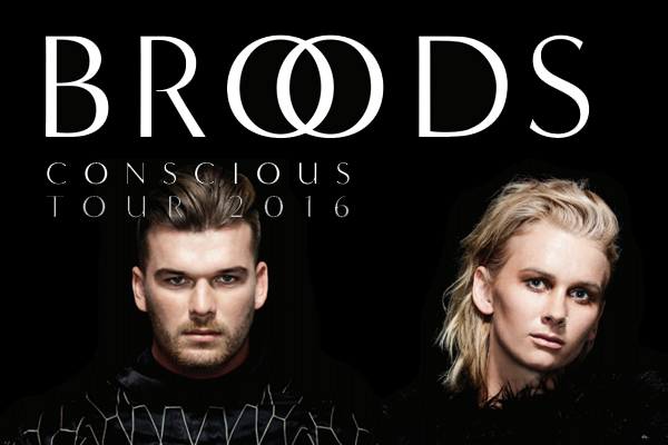 Broods Conscious Tour 2016