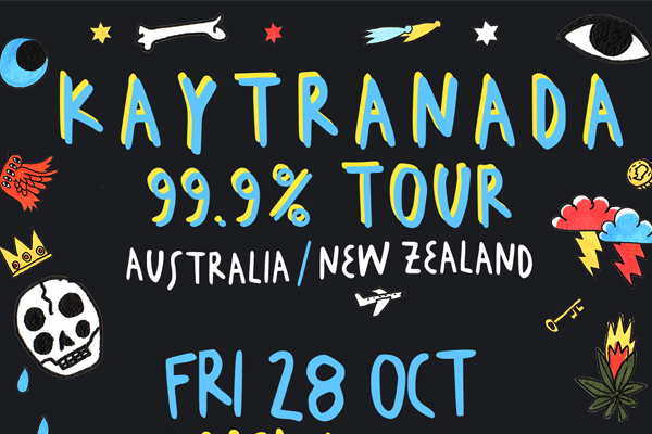 SOLD OUT - Kaytranada 99.9% Tour - Only NZ Show