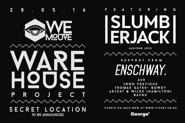 WE MOUVE: Warehouse Project ft. SLUMBERJACK & ENSCHWAY