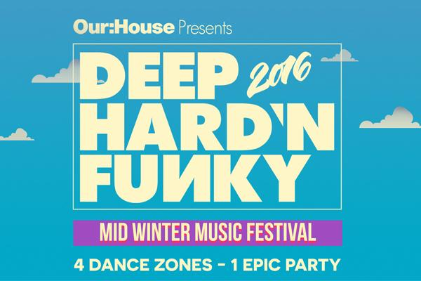 Win Flights, Accommodation and VIP Experience to Deep Hard'n Funky