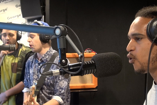 Boombox Eulogy, NZ hip-hop you need to hear, live in studio