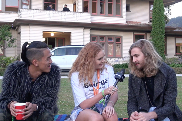 Slumberjack explain to Haylee why they take such pride in their hair