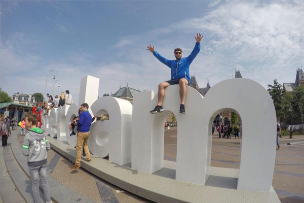 Dan Aux hits Amsterdam with Heineken #OpenYourWorld
