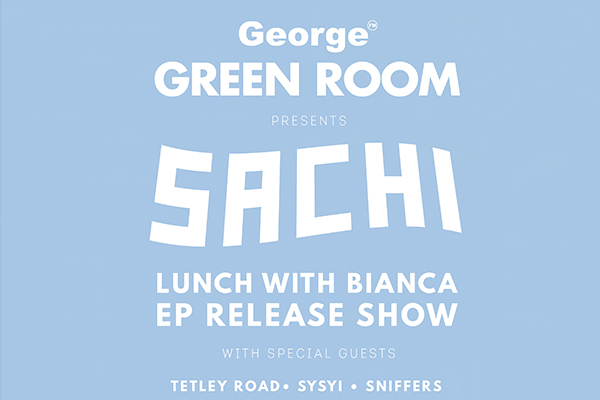 George Fm Green Room Presents: SACHI