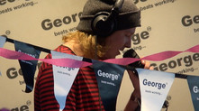 LDRU does all your shout ats on George Breakfast