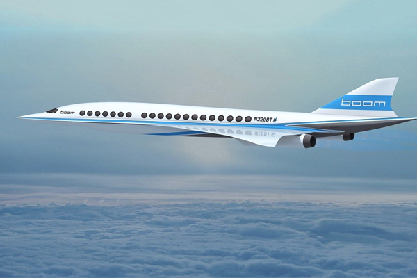 You could be flying Auckland to L.A in only 5 hours on the new Concorde