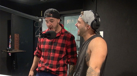 Dyls and Dylz from The Block talk receiving dick pics from viewers
