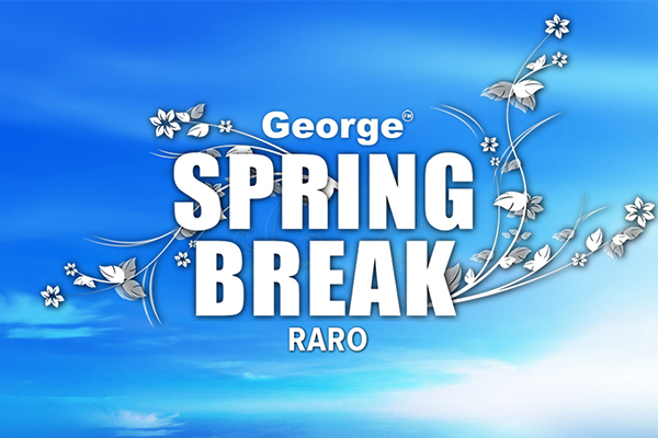 Spring Break Raro 2017 Week 2 announced!