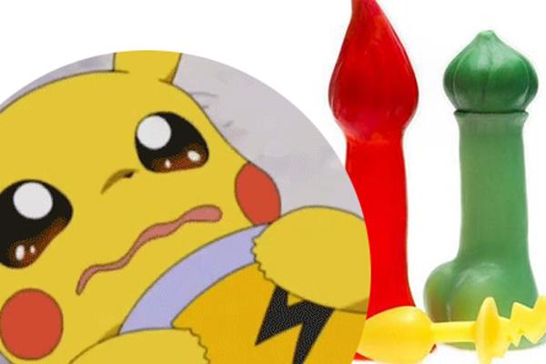 Pokémon themed sex toys? Really?